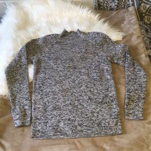 Sweaters - Heathered Turtle Neck
